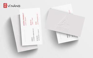 Gia Công - In Ấn Card Visit Dập Nổi Logo Tại Vĩ Năng