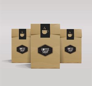 Túi Giấy Kraft Đựng Hạt Cà Phê